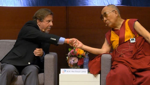 Dick Schwartz and Dalai Lama
